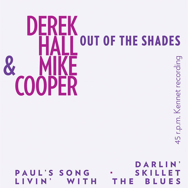 "Derek Hall (5) & Mike Cooper - Out Of The Shades (7"", EP, RE) - NEW"