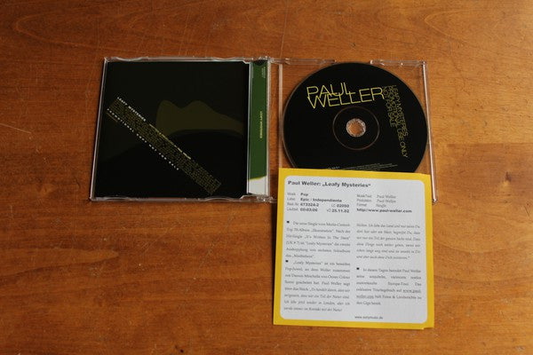 Paul Weller - Leafy Mysteries (CD, Single, Promo) - USED