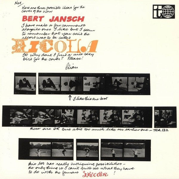 Bert Jansch - Nicola (LP, Album, RE, RM) - NEW
