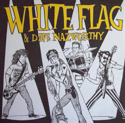 "White Flag & Dave Nazworthy* - Beyond Hurt / In A Different Light (7"", Ltd, Yel) - USED"
