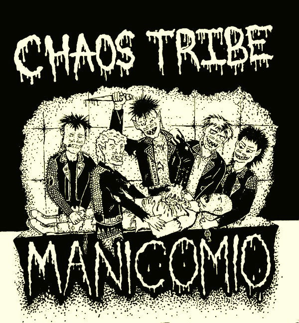 "Chaos Tribe (2) - Manicomio (Flexi, 7"", S/Sided) - NEW"