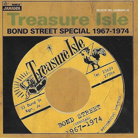Various - Treasure Isle Bond Street Special 1967-1974 (LP, Comp) - NEW