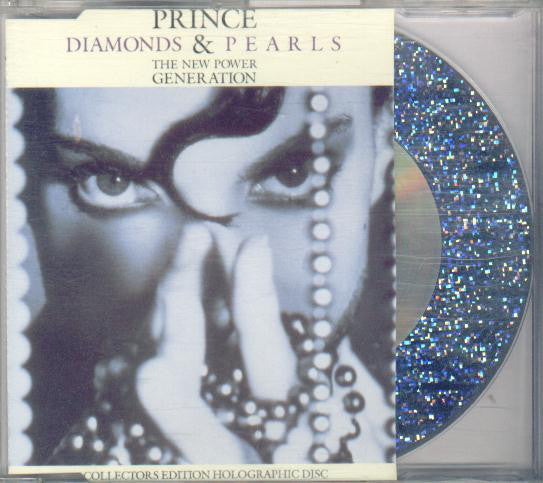 Prince & The New Power Generation - Diamonds & Pearls (CD, Single, Hol) - USED