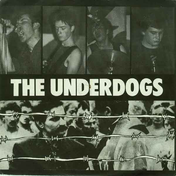 "The Underdogs (2) - East Of Dachau (7"", EP, RE) - NEW"