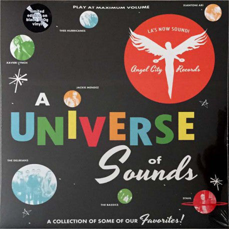 Various - A Universe Of Sounds (LP, Comp, Ltd) - NEW