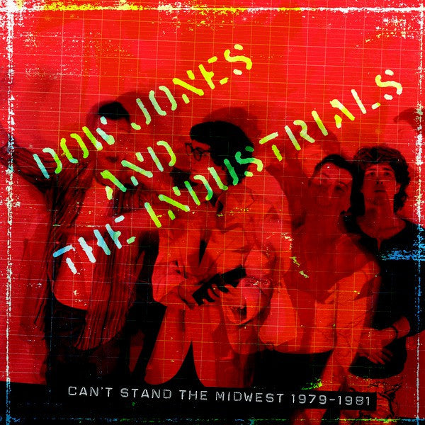 Dow Jones And The Industrials - Can't Stand The Midwest 1979-1981 (2xLP, Comp, Ltd + DVD) - NEW