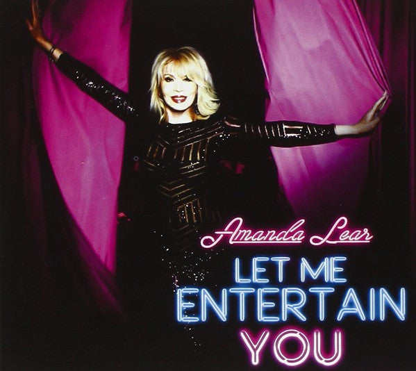 Amanda Lear - Let Me Entertain You (CD, Album + DVD-V + S/Edition) - USED