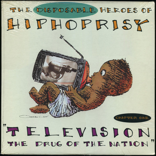 "The Disposable Heroes Of Hiphoprisy - Television, The Drug Of The Nation (12"") - USED"