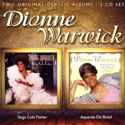 Dionne Warwick - Dionne Warwick Sings Cole Porter / Aquarela Do Brasil (2xCD, Comp, RE, RM) - NEW