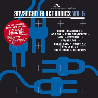 Various - Advanced Electronics Vol. 5 (2xCD + DVD-V, PAL + Comp) - USED