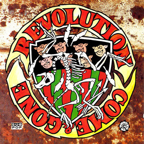 Various - Revolution Come And Gone (CD, Comp) - USED
