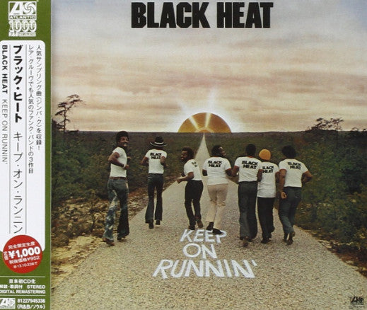 Black Heat - Keep On Runnin' (CD, Album, RE) - USED