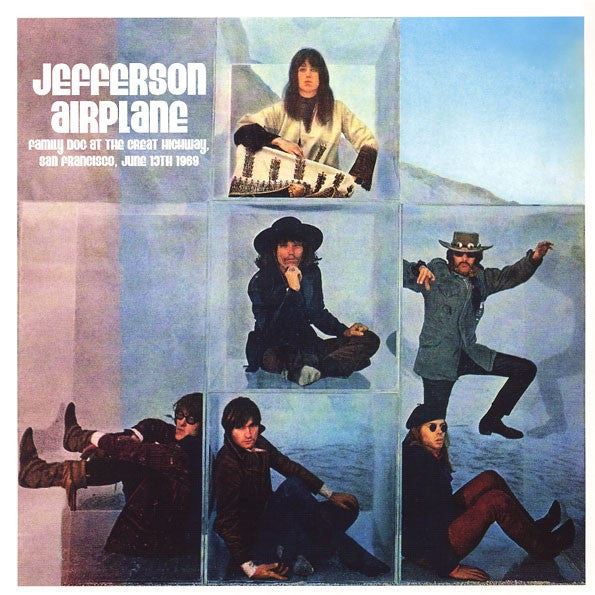 Jefferson Airplane - Family Dog At The Great Highway, San Francisco, June 13th 1969 (CD, Unofficial) - NEW