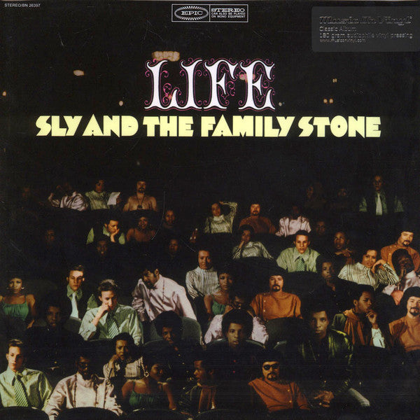 Sly & The Family Stone - Life (LP, Album, RE, 180) - NEW