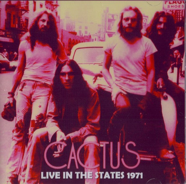Cactus (3) - Live In The States 1971 (2xCD, Album, Unofficial) - USED