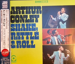 Arthur Conley - Shake, Rattle & Roll (CD, Album, RE) - USED