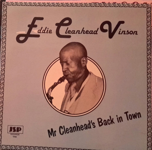 "Eddie ""Cleanhead"" Vinson - Mr Cleanhead's Back in Town (LP, Album) - USED"