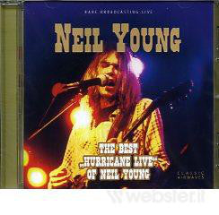 Neil Young - The Best Hurricane Live Of Neil Young (CD, Comp, Unofficial) - USED