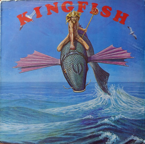 Kingfish - Kingfish (LP, Album, Blu) - USED