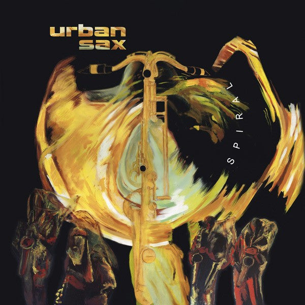Urban Sax - Spiral (LP, RE + DVD-V, Multichannel) - NEW