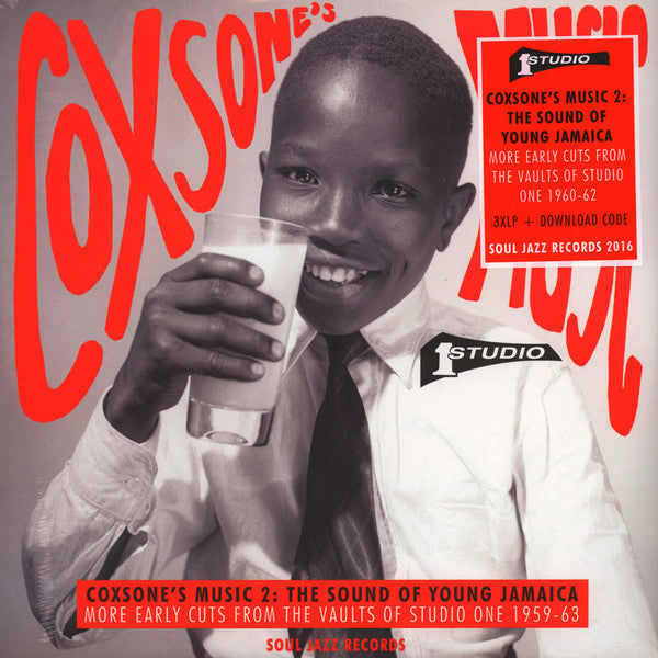 Various - Coxsone's Music 2: The Sound Of Young Jamaica (More Early Cuts From The Vaults Of Studio One 1959-63) (3xLP, Comp) - NEW