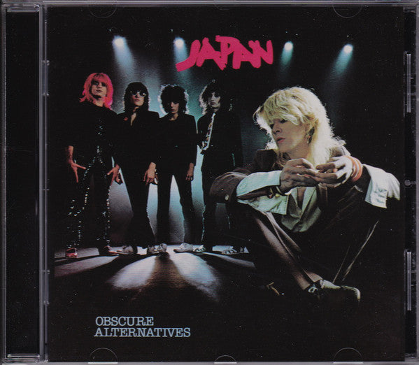Japan - Obscure Alternatives (CD, Album, Enh, RE, RM, Son) - USED
