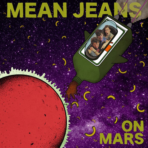 Mean Jeans* - On Mars (LP, Album) - NEW