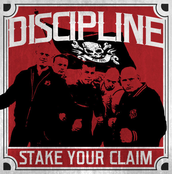 Discipline (5) - Stake Your Claim (LP, Album) - USED