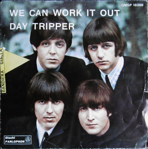 "The Beatles - We Can Work It Out / Day Tripper (7"", Single, Ban) - USED"