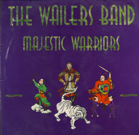 The Wailers Band - Majestic Warriors (LP, Album) - USED