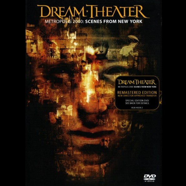 Dream Theater - Metropolis 2000: Scenes From New York (DVD, PAL, RM) - NEW