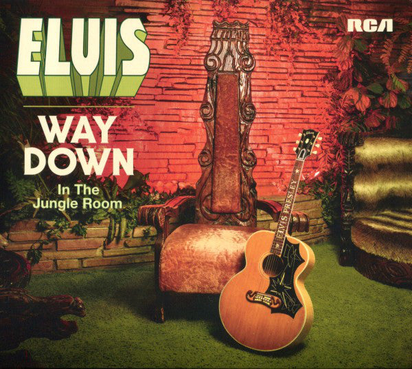 Elvis Presley - Way Down In The Jungle Room (2xCD, Comp, Dig) - USED