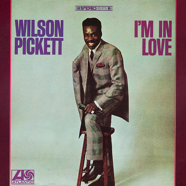 Wilson Pickett - I'm In Love (CD, Album, Mono) - NEW