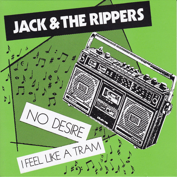 "Jack & The Rippers - No Desire (7"", Single, RE) - NEW"