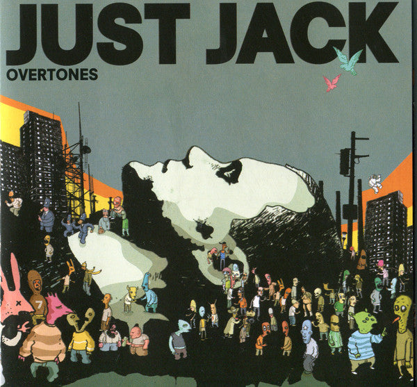 Just Jack - Overtones (CD, Album, Enh, Sup) - USED