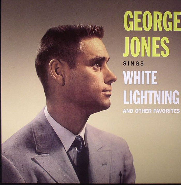 George Jones (2) - Sings White Lightning And Other Favorites (LP, Album, RE, 180) - USED