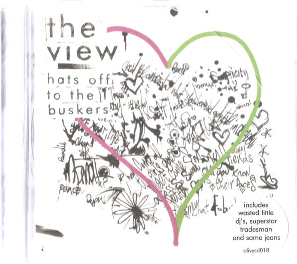 The View (2) - Hats Off To The Buskers (CD, Album) - USED