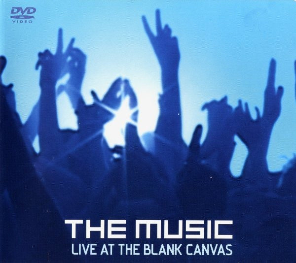 The Music - Live At The Blank Canvas (DVD, PAL) - NEW
