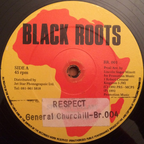 "General Churchill - Respect (12"") - USED"