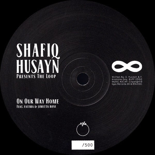 "Shafiq Husayn - On Our Way Home (12"", S/Sided, Single, Ltd) - NEW"