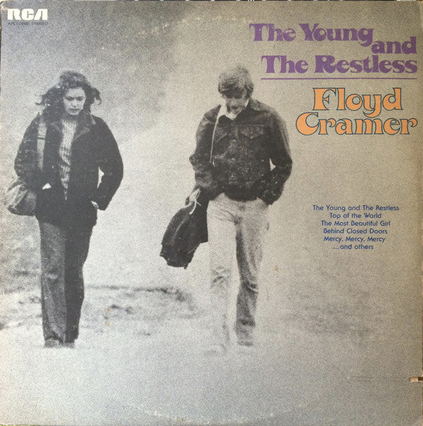 Floyd Cramer - The Young And The Restless (LP, Album) - USED