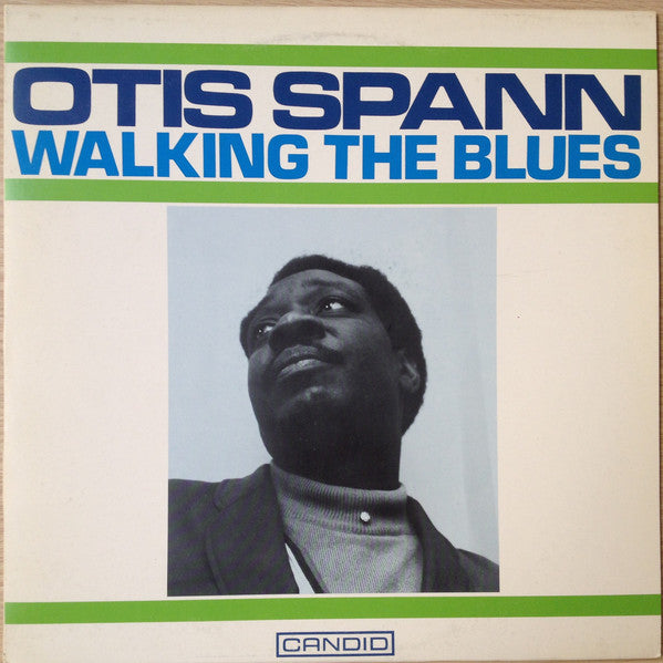 Otis Spann - Walking The Blues (LP, Album, RE) - USED