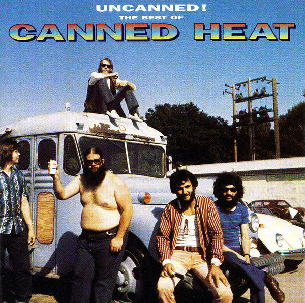 Canned Heat - Uncanned! The Best Of Canned Heat (2xCD, Comp, RM) - USED