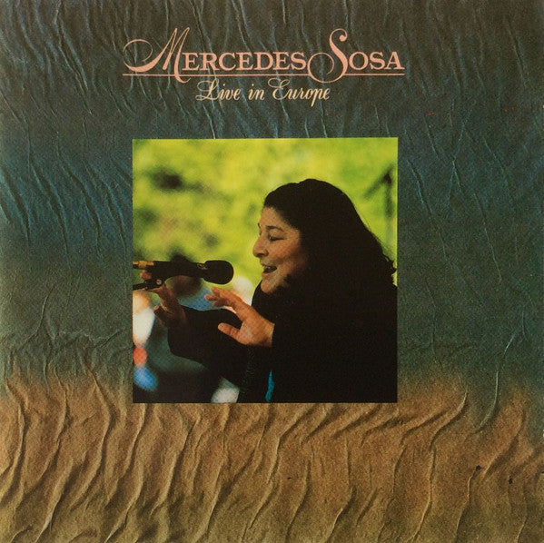 Mercedes Sosa - Live In Europe (CD, Album) - USED