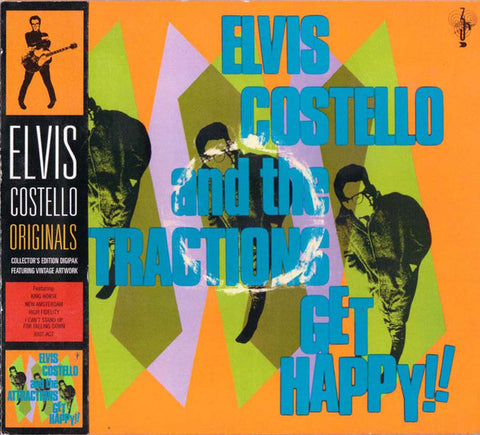 Elvis Costello And The Attractions* - Get Happy!! (CD, Album, RE, Dig) - NEW