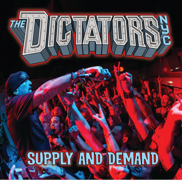 "The Dictators NYC* - Supply And Demand (7"", RP, Red) - NEW"