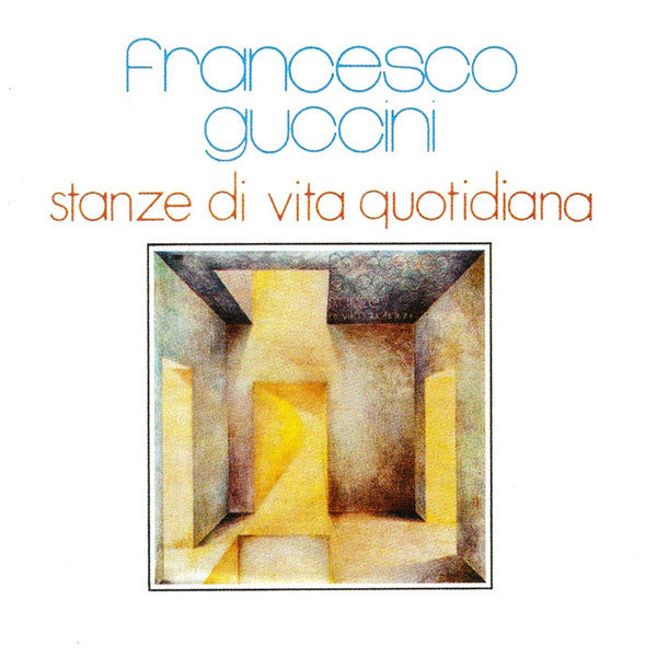Francesco Guccini - Stanze Di Vita Quotidiana (CD, Album, RE) - USED