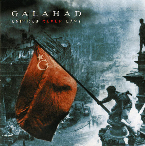 Galahad - Empires Never Last / A Curious Companion (2xLP, Album, Ltd, Num, Blu + CD, Ltd) - NEW