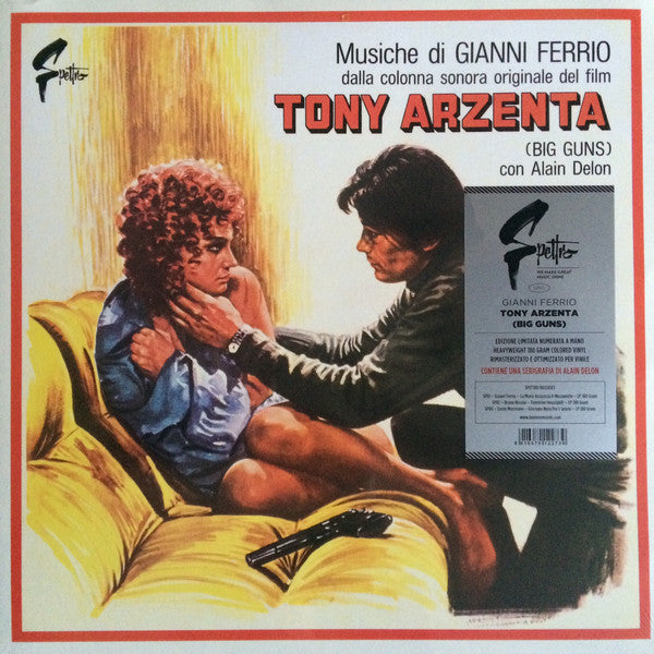 Gianni Ferrio - Tony Arzenta (Big Guns) (LP, Album, Ltd, Num, RE, RM, 180) - NEW