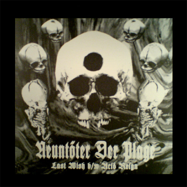 "Neuntöter Der Plage - Last Wish b/w Acid Reign (12"", Ltd) - USED"